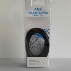 ADJ displayport to displayport m/m 1 meter