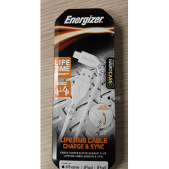 Energizer Charge and sync lightning to USB-A cable 1.2 meter