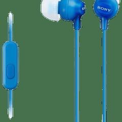 Sony MDR-EX15AP - In-ear oordopjes - Blauw