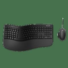 Microsoft Ergonomic Desktop Win32 USB BE/FR Black
