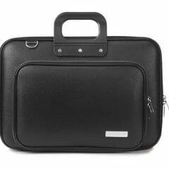 Bombata Classic Plus Laptoptas - Black - 15