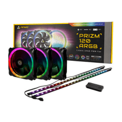 Antec Prizm 120 ARGB 3st. + 2 LED strips + Controller